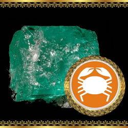 אבן מזל סרטן - קריסופראס