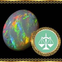 אבן מזל מאזניים - ספיר