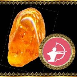 אבן מזל קשת - טופז