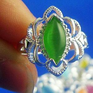 טבעת כסף לדגומה