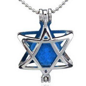 מגן דוד עם אבן