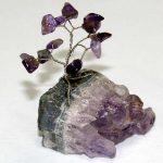 עץ הבריאות עם אבני אמטיסט