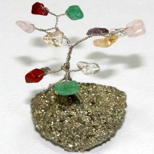עץ המשאלות עם אבני חן