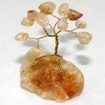 עץ השפע והפרנסה עם אבני סיטרין