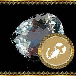 אבן מזל עקרב - מלכית