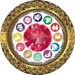 אבני המזל של גלגל המזלות
